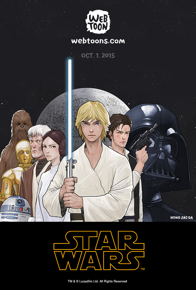 Star Wars - Line WebToon