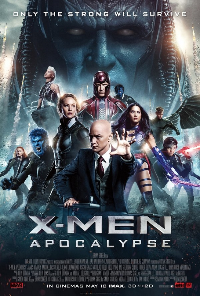 X-Men - Apocalipse - Poster IMAX - MonsterBrain
