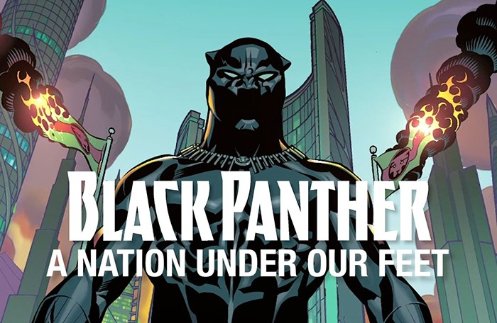 "Pantera Negra | Trailer da Graphic Novel ""A Nation Under Our Feet"""