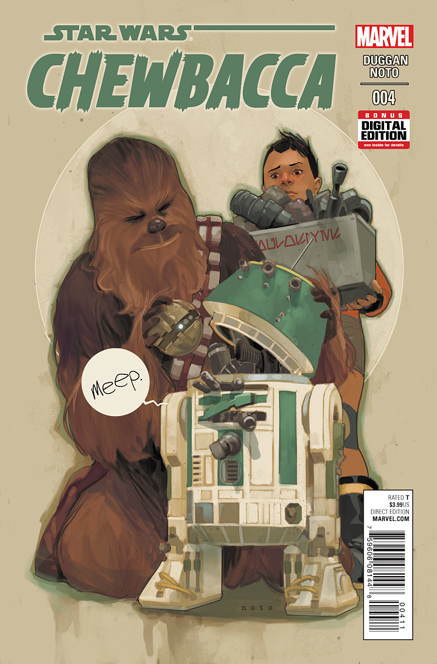 Star Wars - Chewbacca - Parte IV - Marvel Comics