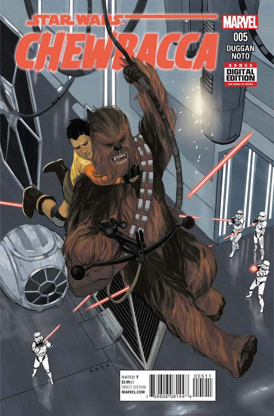 Star Wars - Chewbacca - Parte V - Marvel Comics
