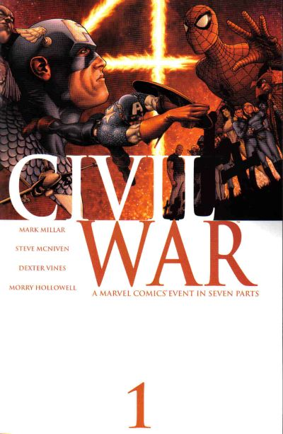 Guerra Civil #1 - Marvel Comics