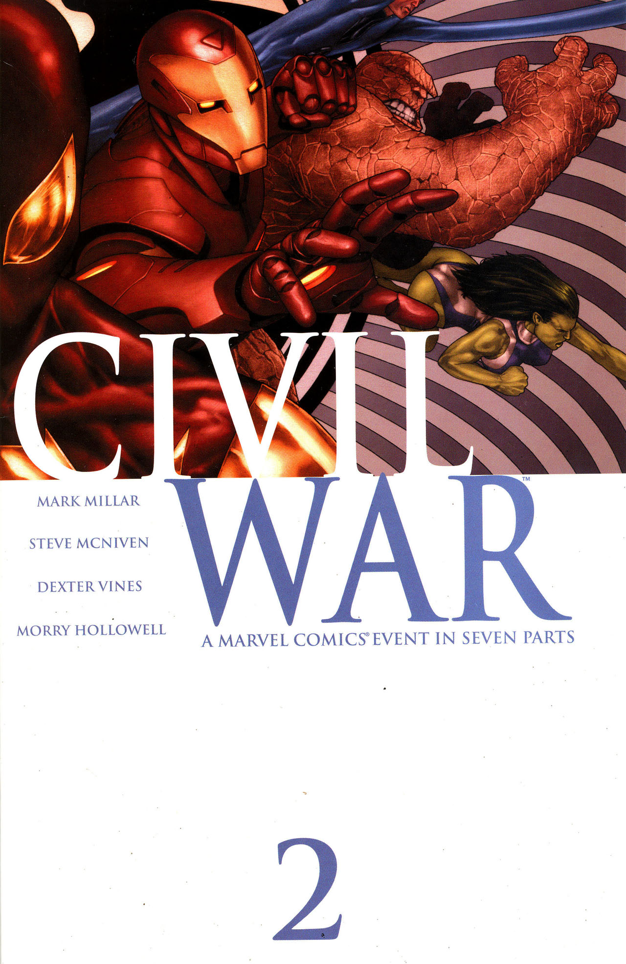 Guerra Civil #2 - Marvel Comics