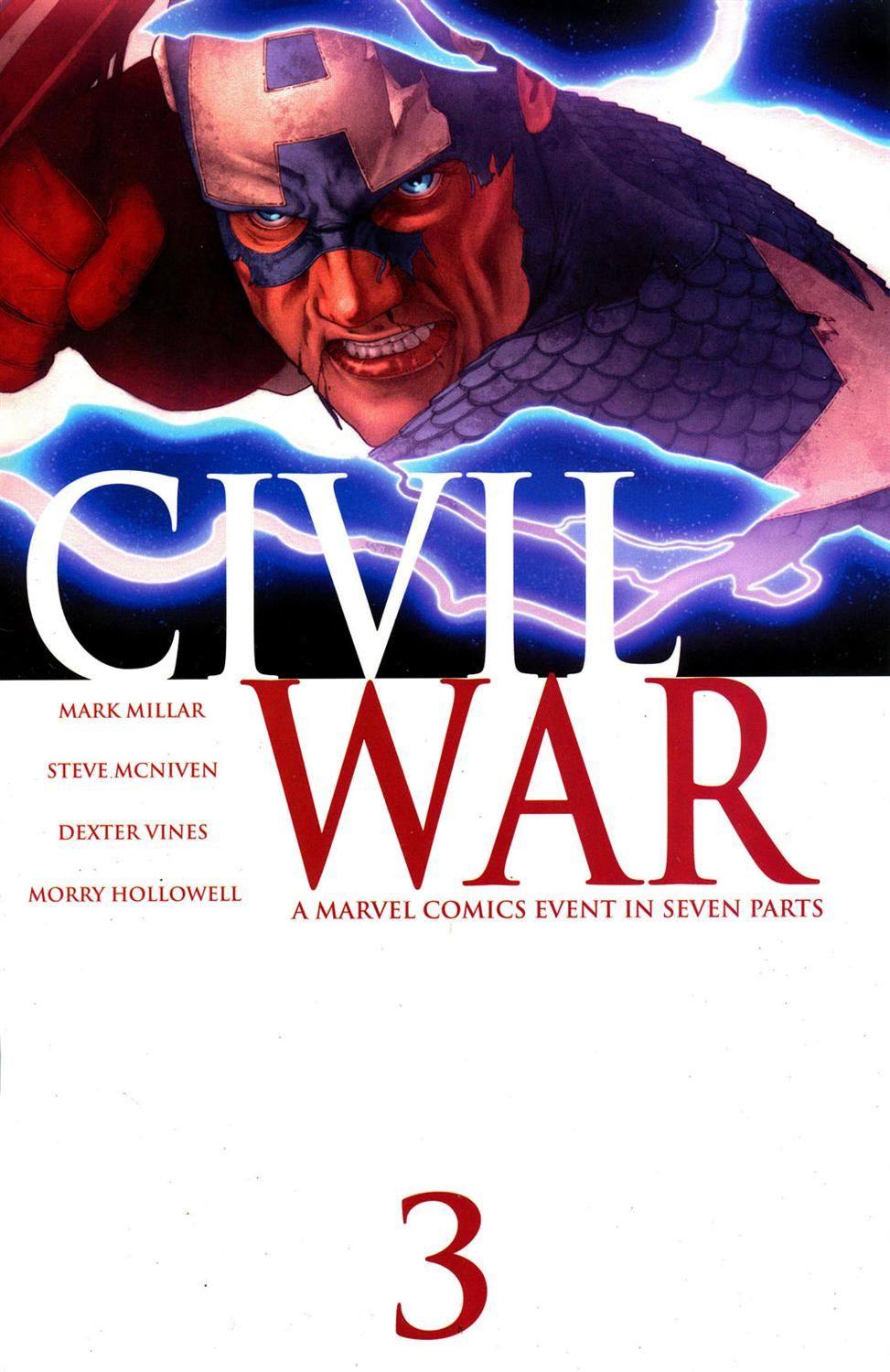 Guerra Civil #3 - Marvel Comics