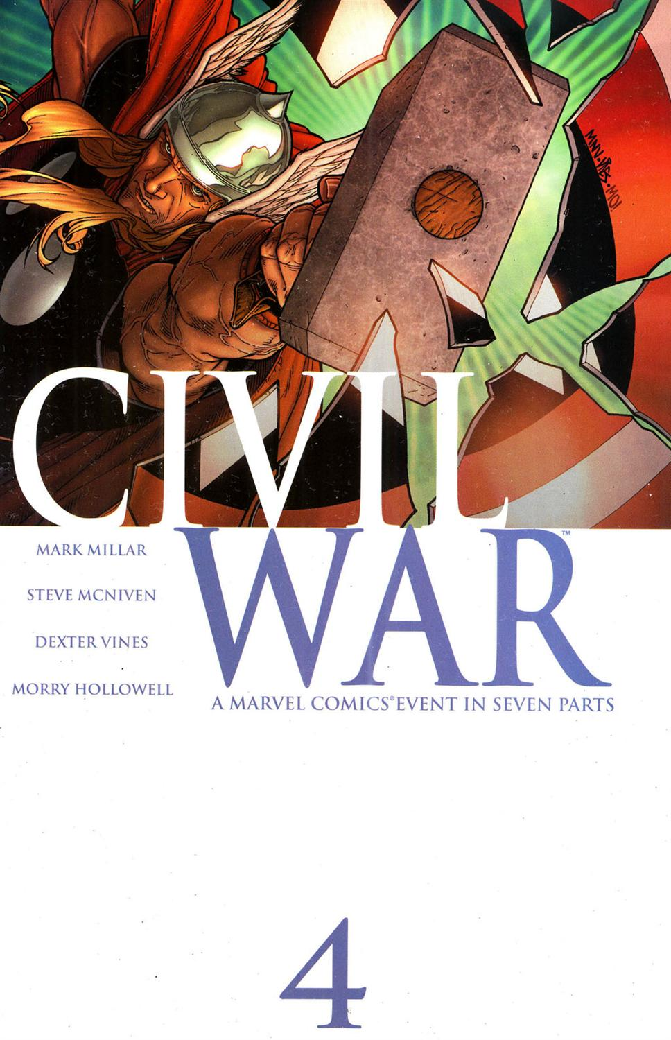 Guerra Civil #4 - Marvel Comics