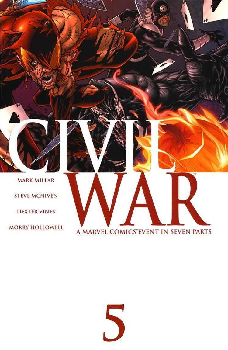 Guerra Civil #5 - Marvel Comics