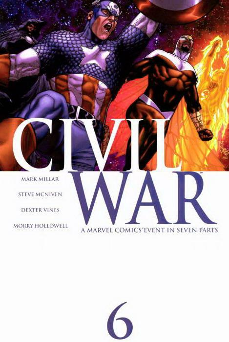 Guerra Civil #6 - Marvel Comics
