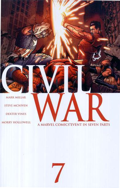 Guerra Civil #7 - Marvel Comics